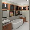 PRAIRIE HOME PLANS - LOWRY-3512 - ENSUITE 3D RENDERING