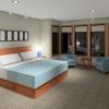 PRAIRIE HOME PLANS - LOWRY-3512 - MASTER BEDROOM 3D RENDERING