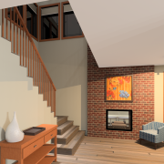 PRAIRIE HOME PLANS - LOWRY-3512 - STAIRS
