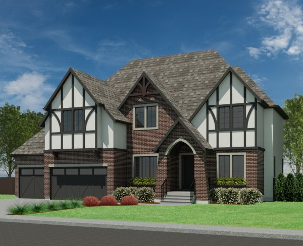 TUDOR HOME PLANS – ABBEY-3499