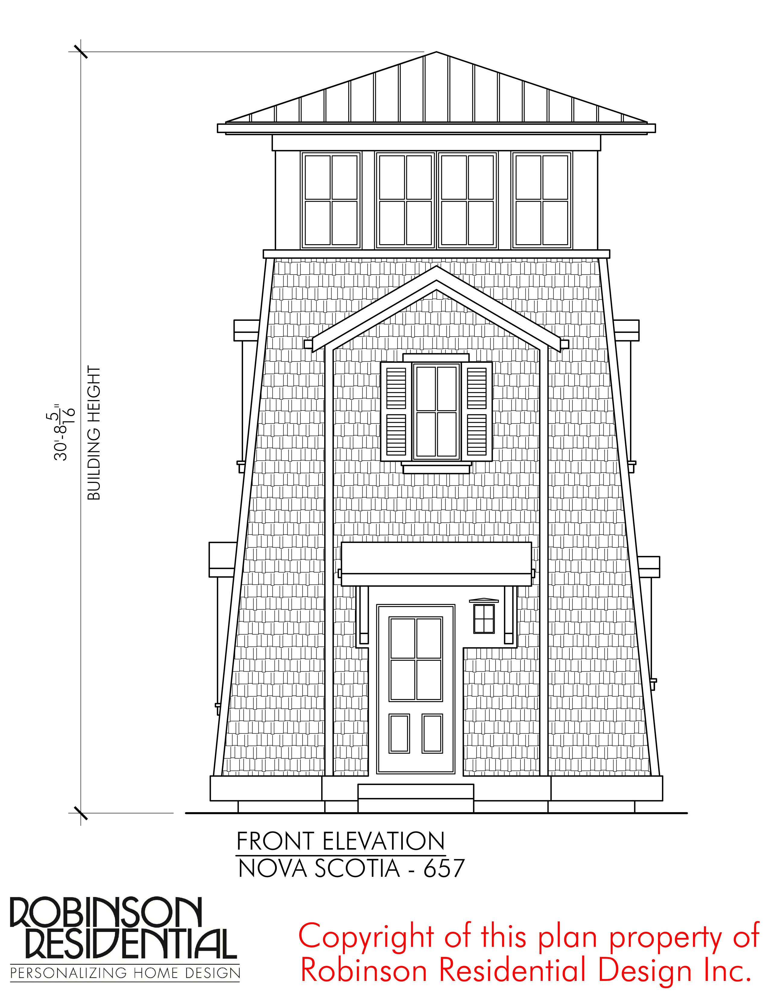 Nova Scotia-657 - Robinson Plans