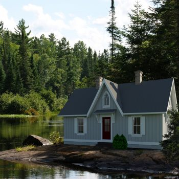 SMALL HOME PLANS - ONTARIO-476