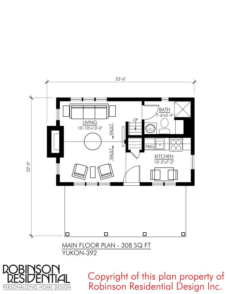 Tiny Home Designs: Robinson Plans