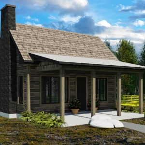 SMALL HOME PLANS - YUKON-392