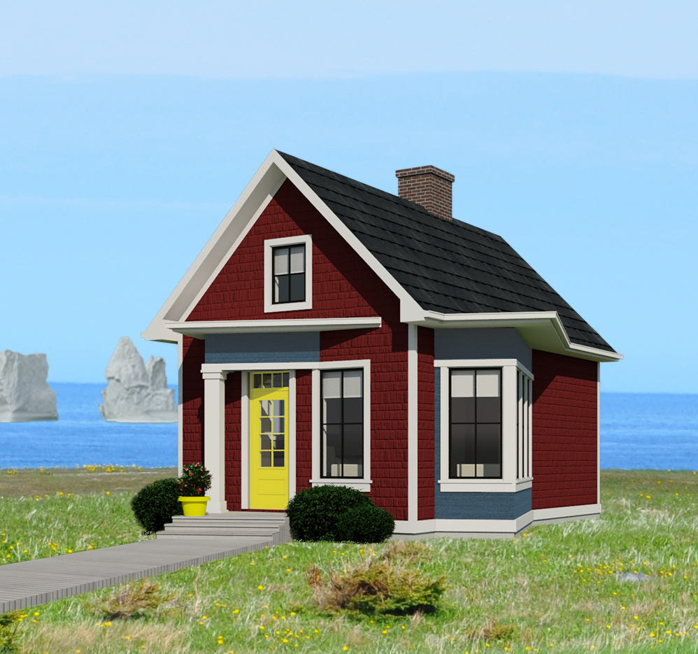 Newfoundland and labrador 525 robinson plans for Tiny house pictures and plans