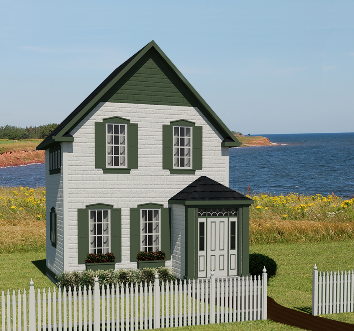 Prince edward island 597 robinson plans for Small home design plans