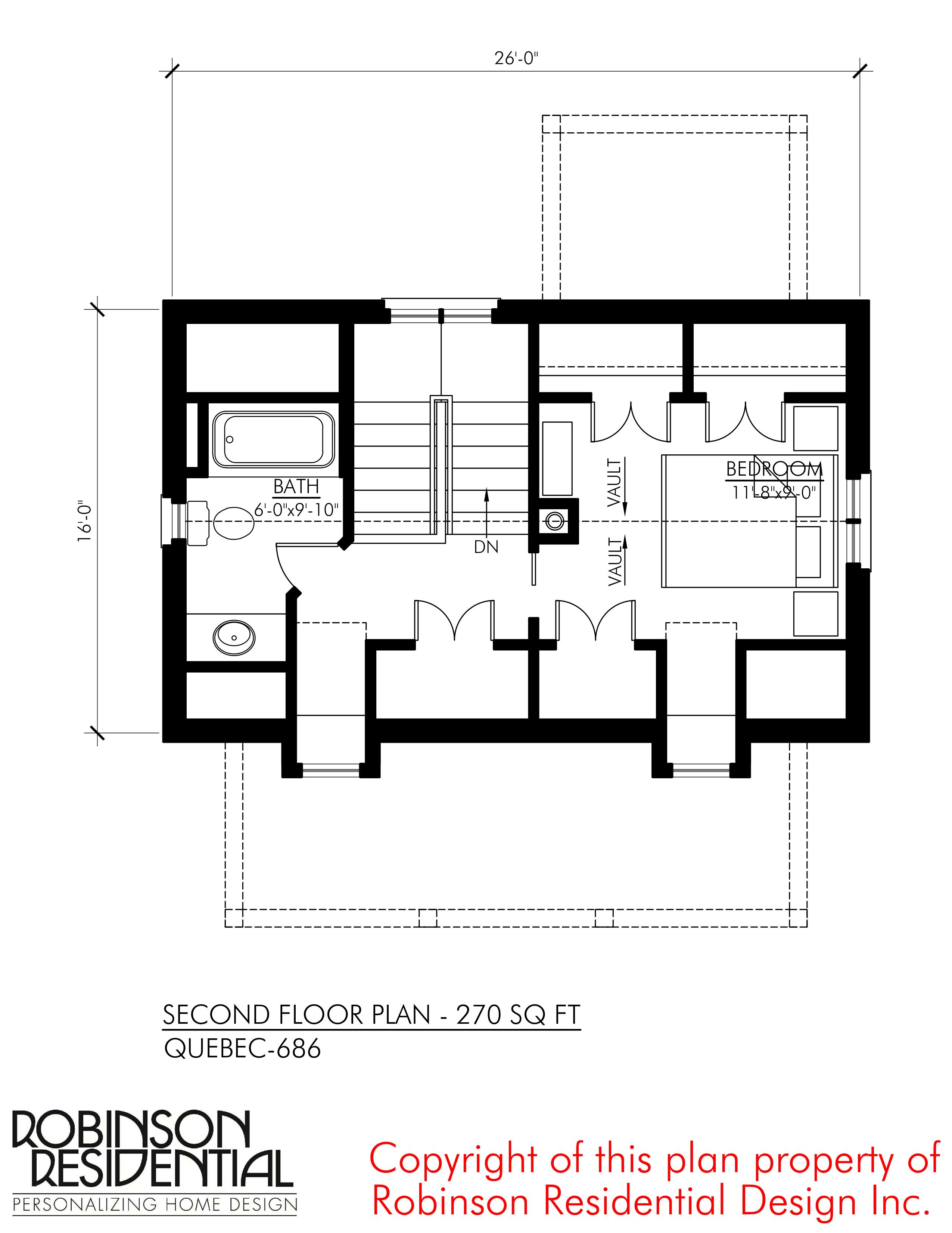 Quebec-686 - Robinson Plans