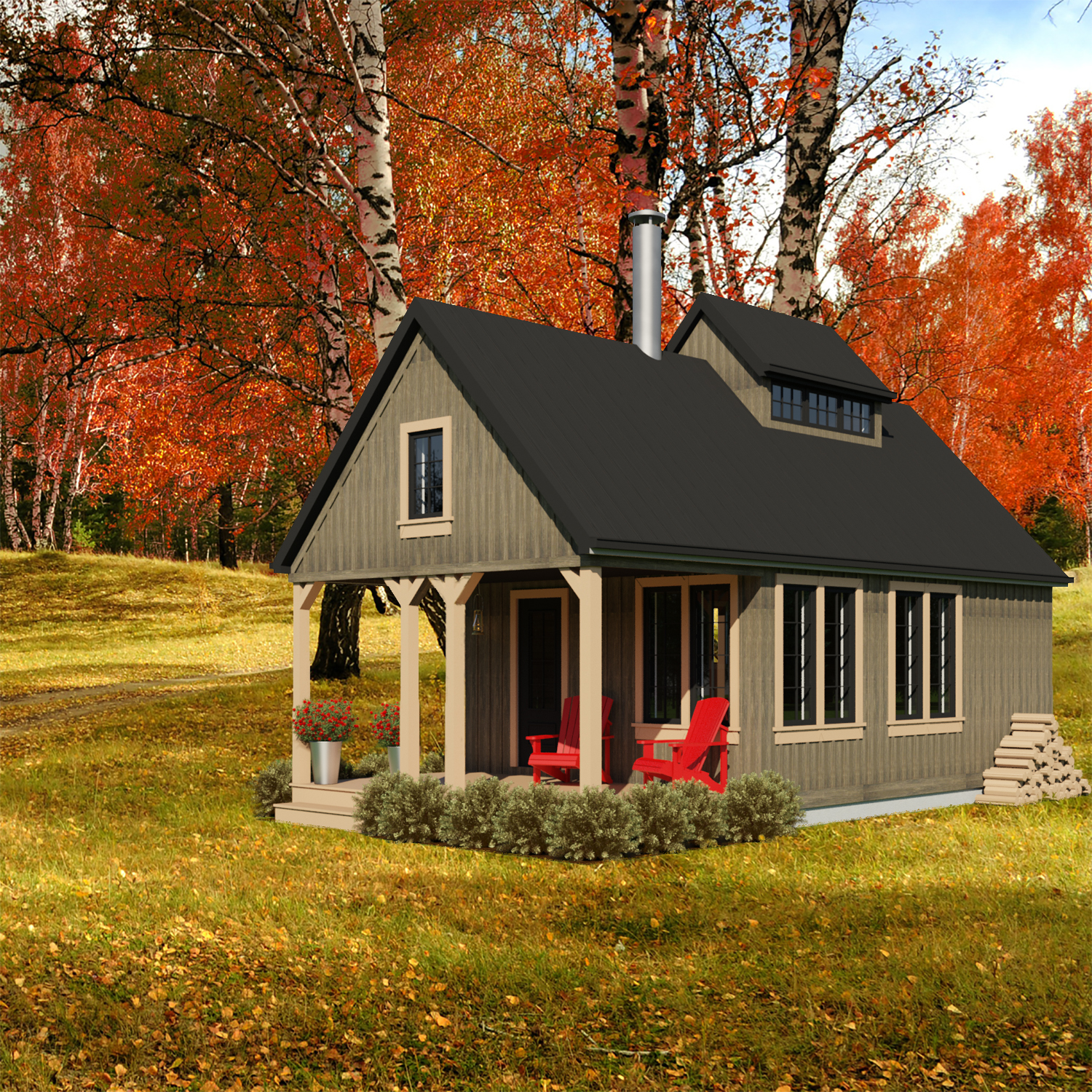Small Home Plans: New Brunswick-468