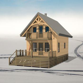 SMALL HOME PLANS - NUNAVUT-697