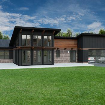 Contemporary Home Plans - Robinson Plans