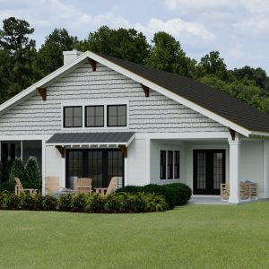 CRAFTSMAN HOME PLANS - B-SERIES WHITE