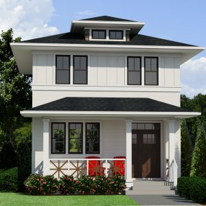 SMALL HOME PLANS - PRAIRIE ALEXANDER-840