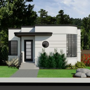 SMALL HOME PLANS - CONTEMPORARY NYHUS-491