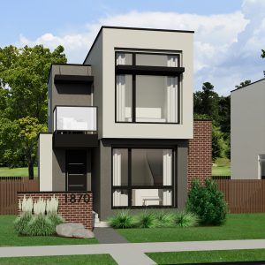 SMALL HOME PLANS - CONTEMPORARY SAUDER-896