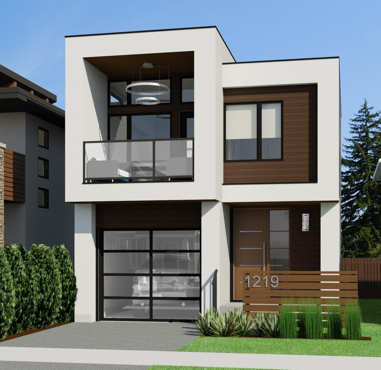 Small House Designs: Contemporary Nicholas-718