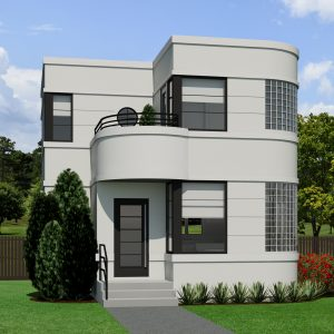SMALL HOME PLANS - CONTEMPORARY NORMANDIE-947