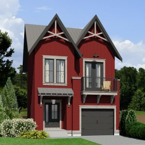 SMALL HOME PLANS - MODERN FARMHOUSE DURUM-728