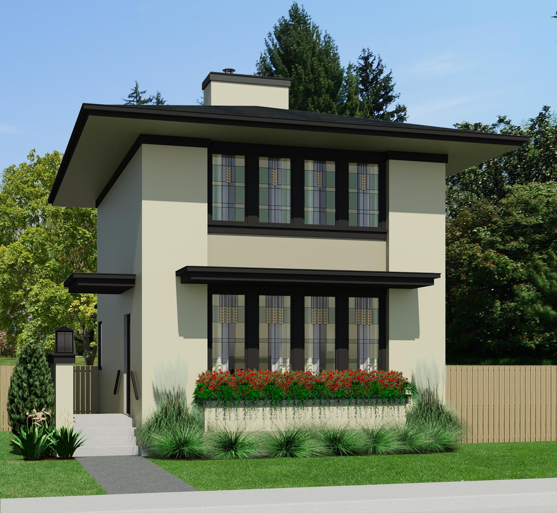 Small House Designs: Prairie Willow-962