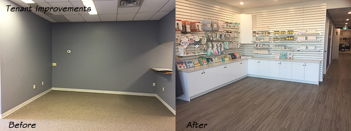 Commercial Design - Before and After