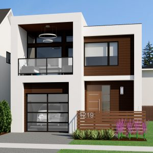 SMALL HOME PLANS - CONTEMPORARY NICHOLAS-1207