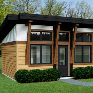 CONTEMPORARY HOME PLANS - CARIBOU-320