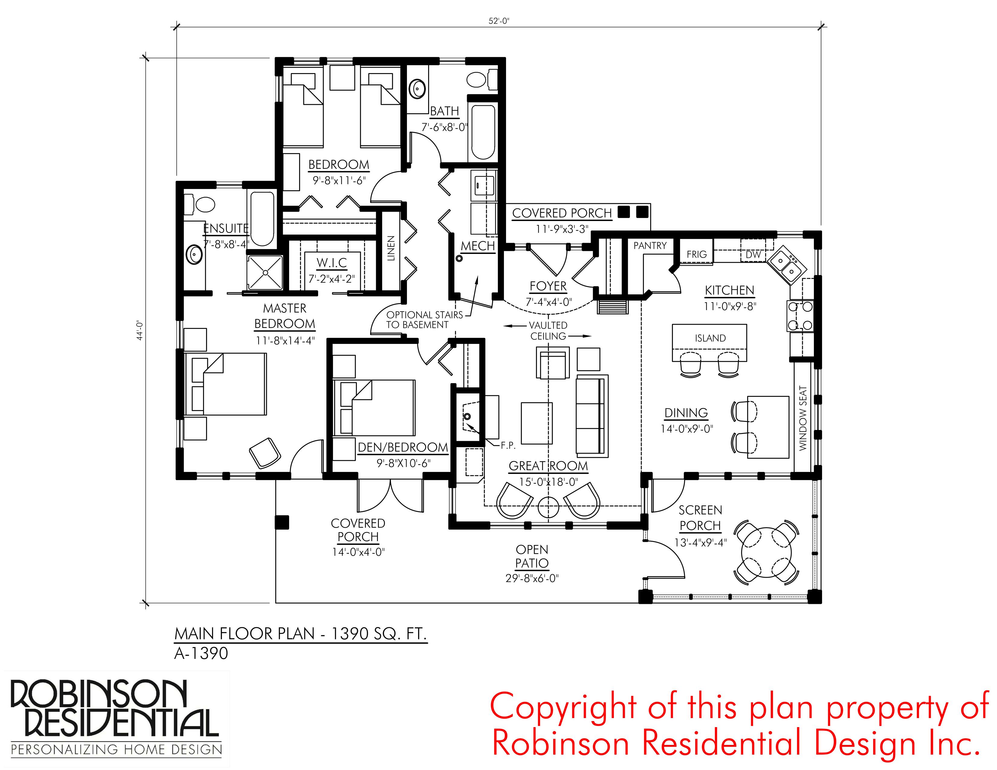 Craftsman A 1390 Robinson Plans