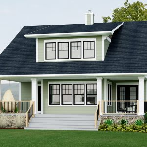 CRAFTSMAN HOME PLANS - D-SERIES