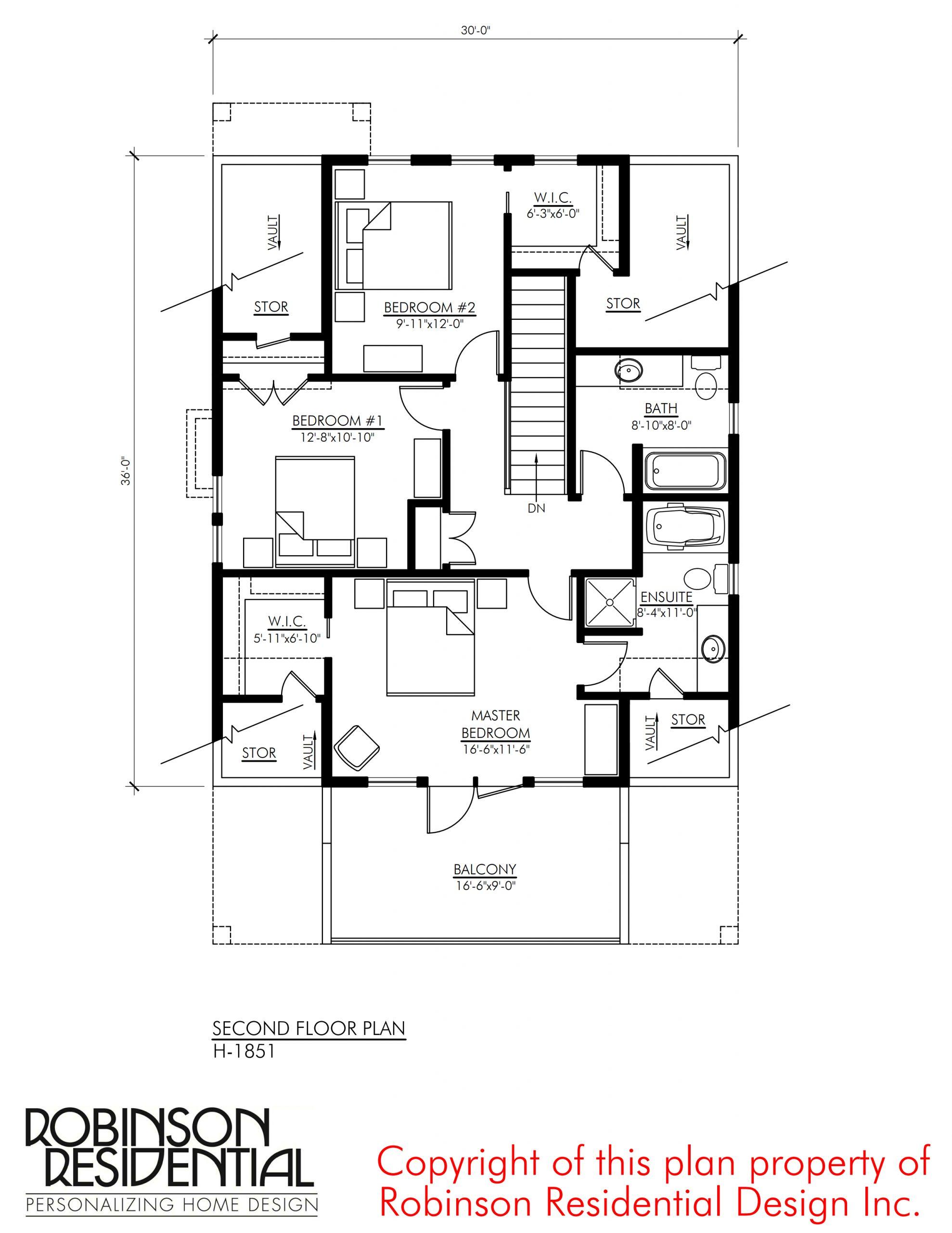 Craftsman H 1851 Robinson Plans