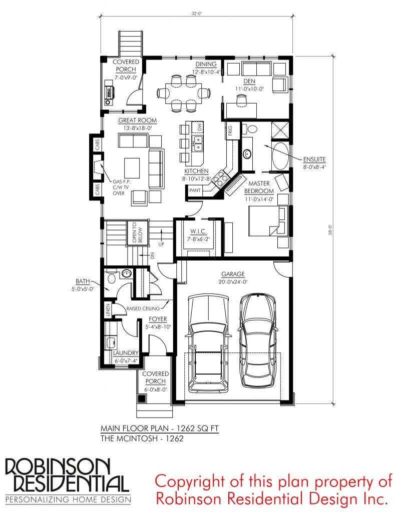 Craftsman McIntosh-1262