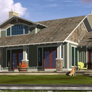 CRAFTSMAN HOME PLANS - F-SERIES