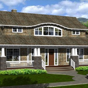 CRAFTSMAN HOME PLANS - I-SERIES - FRONT
