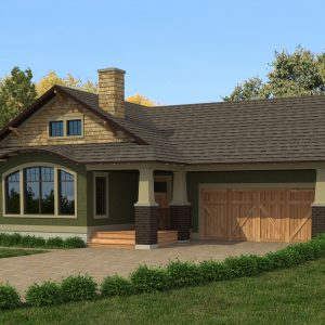 CRAFTSMAN HOME PLANS - L-1733