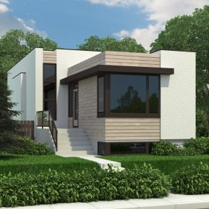 CONTEMPORARY HOME PLANS - LINDSAY