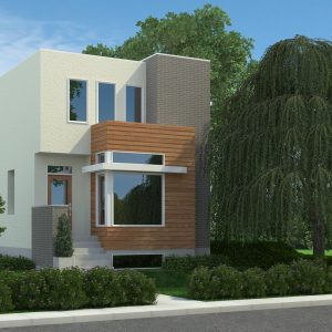 CONTEMPORARY HOME PLANS - MCCALLUM
