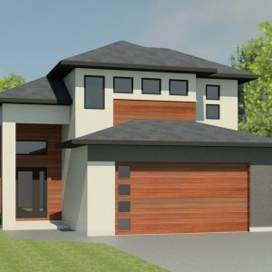 CONTEMPORARY HOME PLANS - NIGHTINGALE-1529