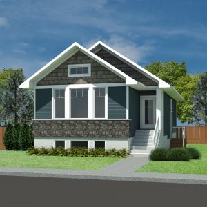 CRAFTSMAN HOME PLANS - LINDEN-1073
