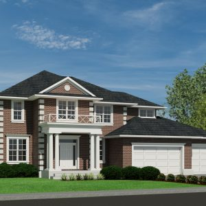 COLONIAL HOME PLANS - BRIGHTON-3431