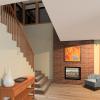 PRAIRIE HOME PLANS - LOWRY-3512 - STAIRS 3D RENDERING