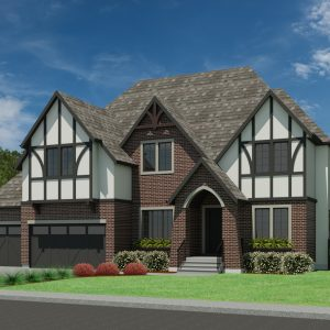 TUDOR HOME PLANS - ABBEY-3499