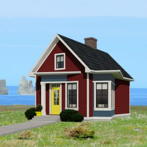 SMALL HOME PLANS - NEWFOUNDLAND AND LABRADOR-525