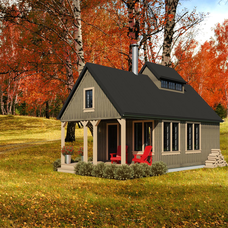 SMALL HOME PLANS - NEW BRUNSWICK-448