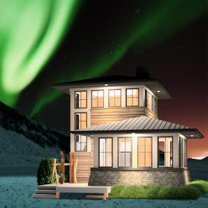 SMALL HOME PLANS - NORTHWEST TERRITORIES-521