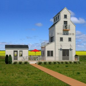 SMALL HOME PLANS - SASKATCHEWAN-713
