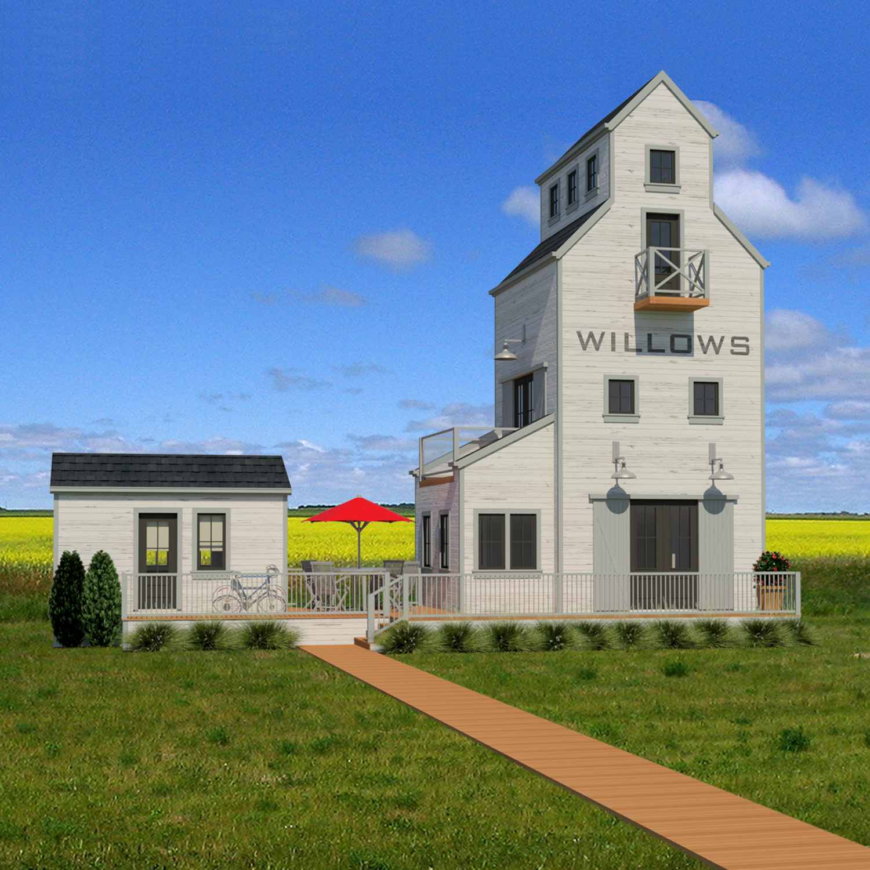 SMALL HOME PLANS - SASKATCHEWAN-713
