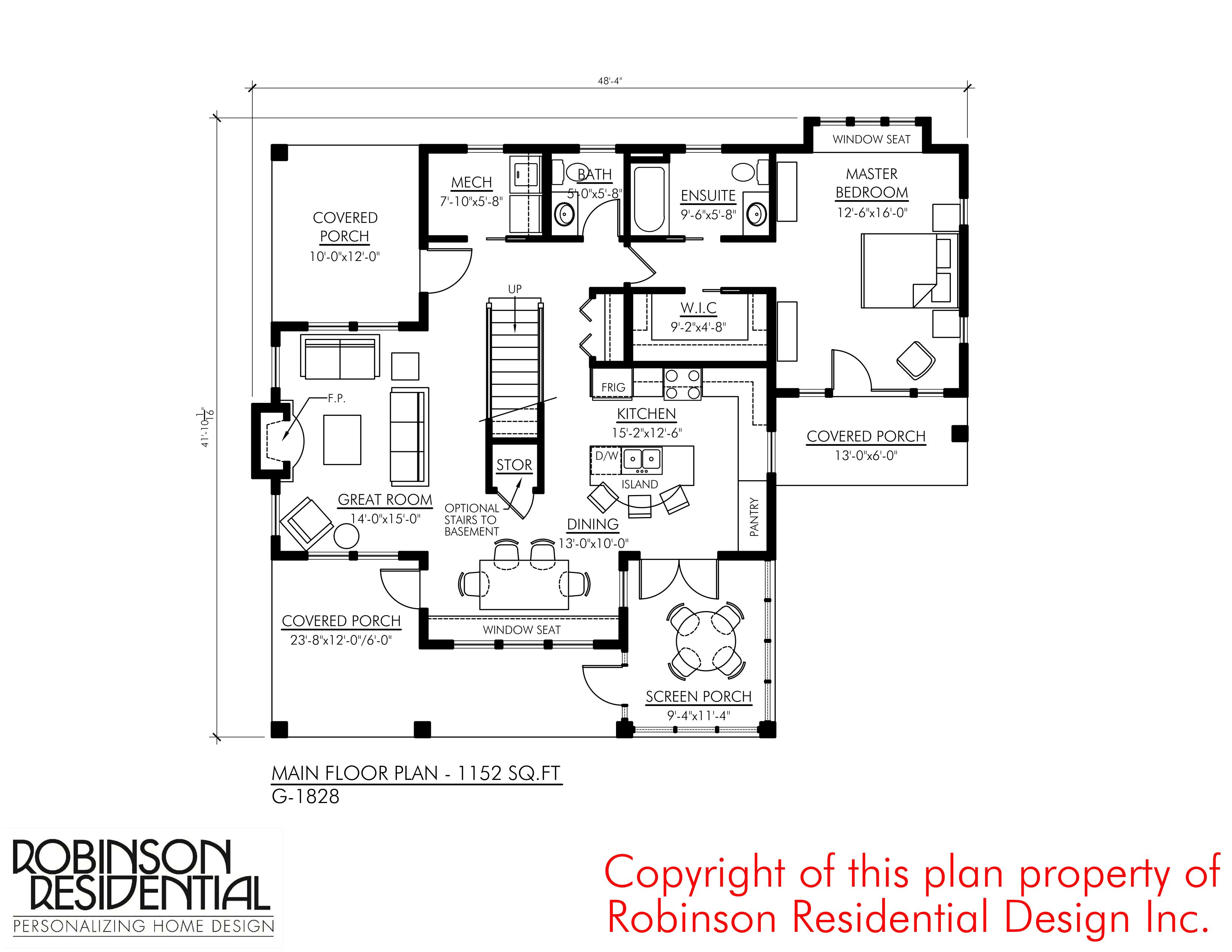 Craftsman G 1828 Robinson Plans