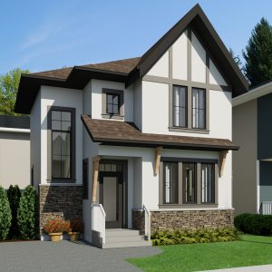 SMALL HOME PLANS - TUDORAUSTRING-946