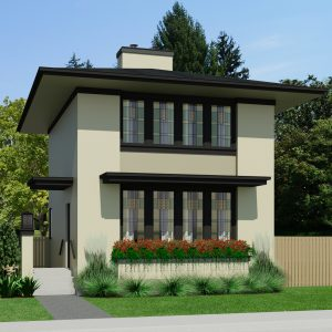 SMALL HOME PLANS - PRAIRIE WILLOW-962