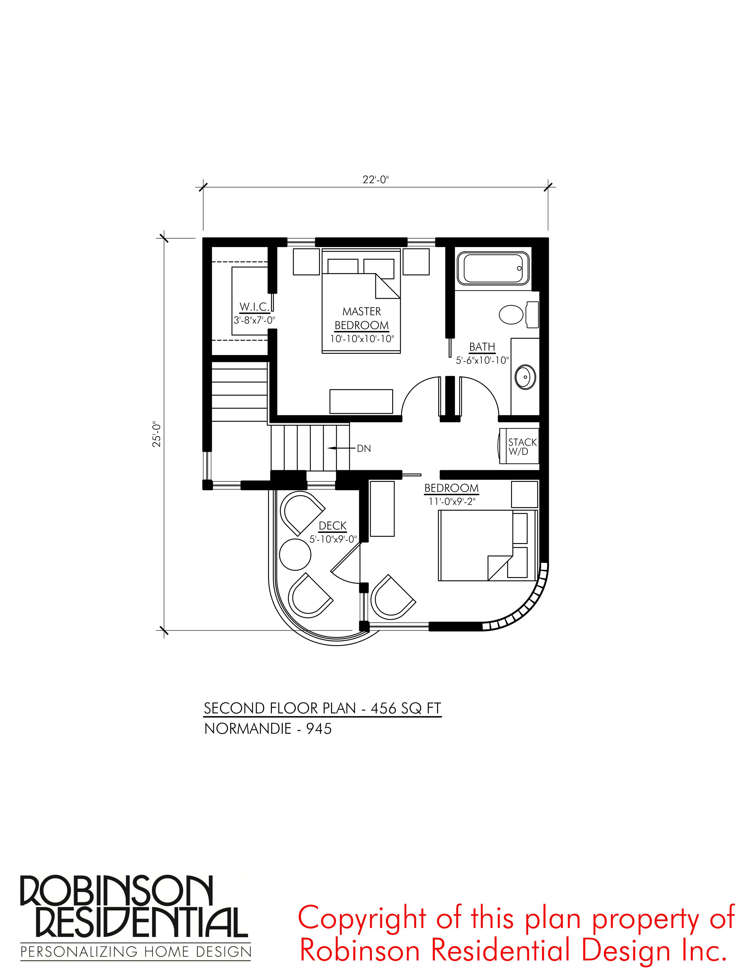 Contemporary Norman 945 Robinson Plans