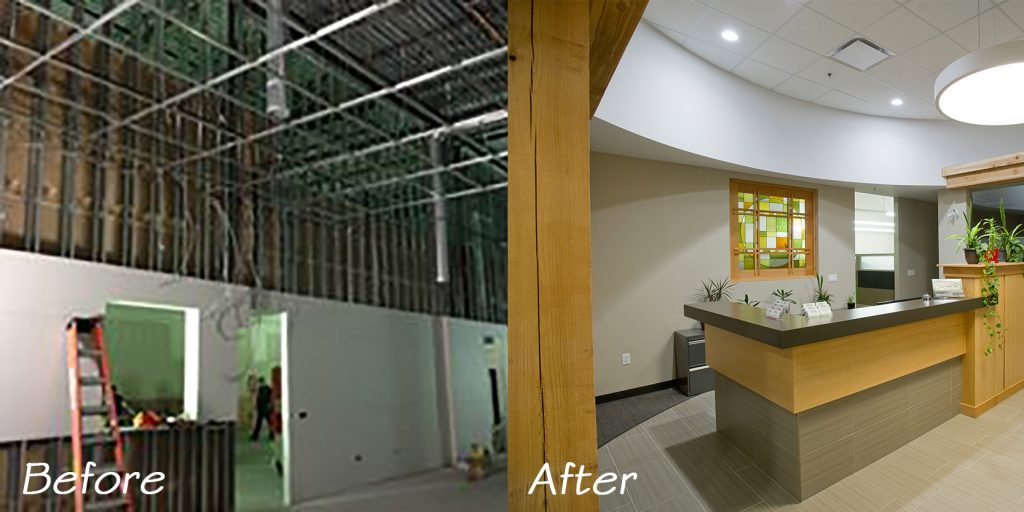 Before and After - Commercial Design