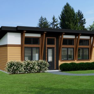 CONTEMPORARY HOME PLANS - CARIBOU-512